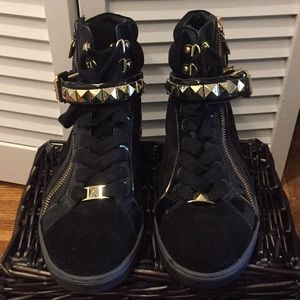 Michael Kors high-top sneakers, size 8 1/2